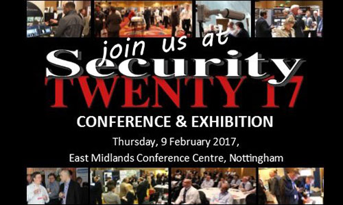See you at Security Twenty 17, Harrogate