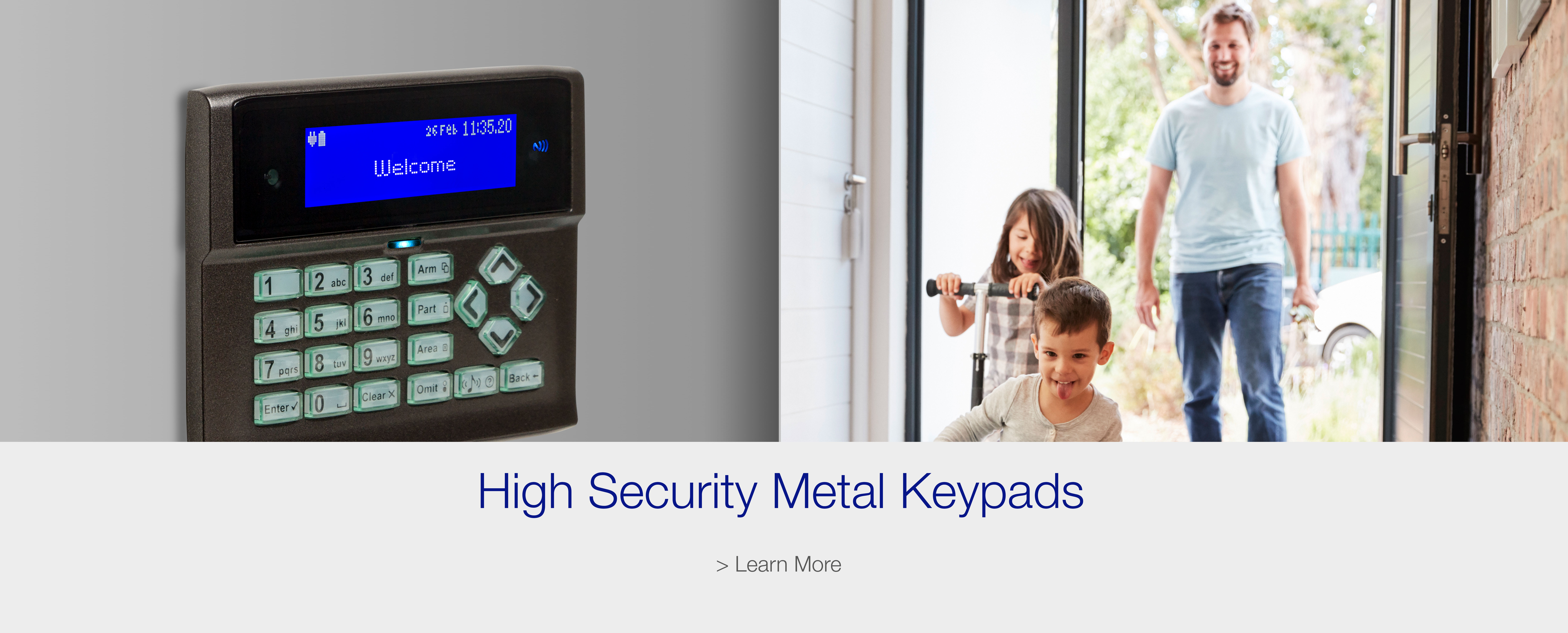 Orisec High Security Metal Keypads with Premium Finishes
